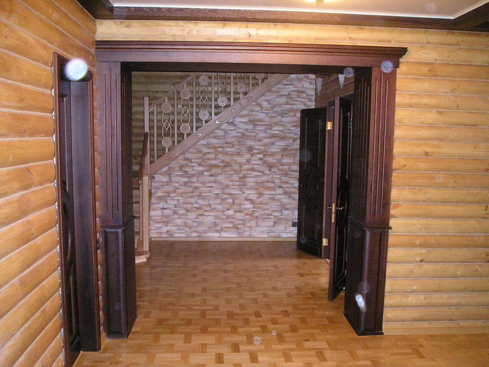 Отделка дверного проема между комнатами своими руками: варианты